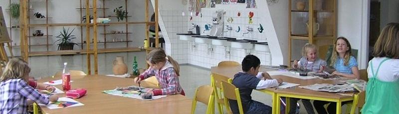 Učebna Výtvarné výchovy